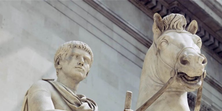 Incitatus, el caballo de Calígula que fue nombrado senador de Roma