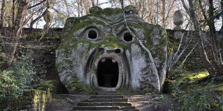 El jardín de Bomarzo, el parque de las estatuas de monstruos