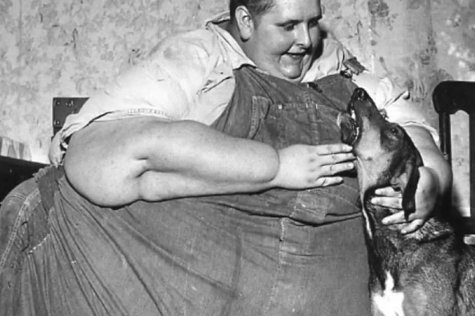 Jon Brower Minnoch, la persona más obesa de lña Historia.