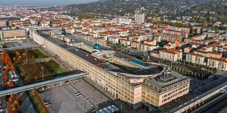 Lingotto, la fábrica de Fiat que tenía un circuito de carreras en la azotea