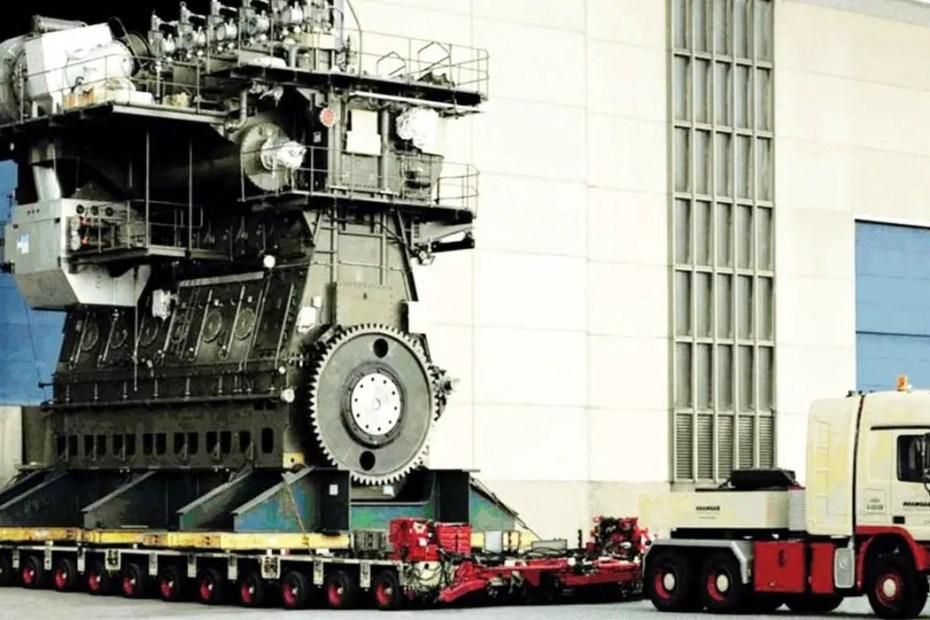 Wärtsilä RT-flex96C, el motor más grande del mundo.