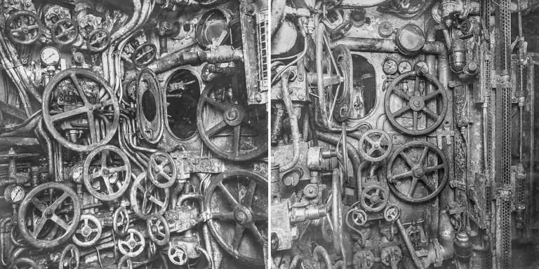 Así eran los controles de los submarinos alemanes de la Primera Guerra Mundial