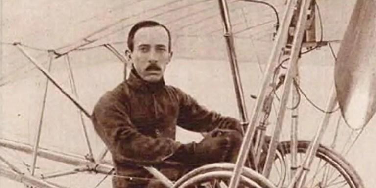 Santos Dumont y el vuelo en el verdadero primer avión de la historia