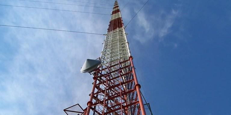 La torre KVLY, la antena más alta del mundo aun en pie