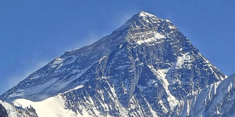 El emblemático monte Everest.
