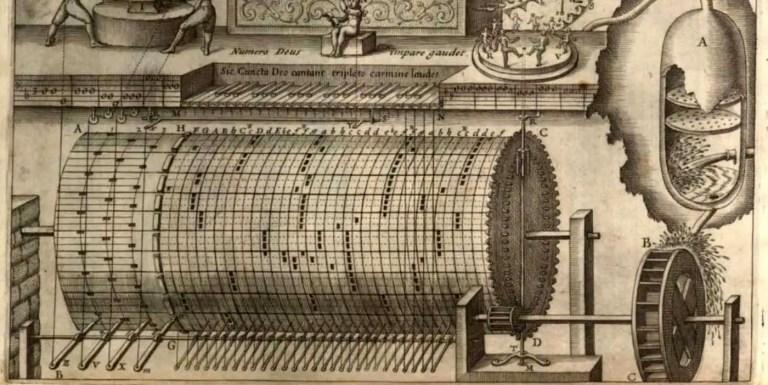 Musurgia Universalis de Athanasius Kircher, el libro de música pionero