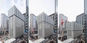 Demolición de un edificio de manera gradual gracias a la tecnología TECOREP.