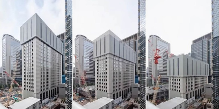 TECOREP, como los japoneses demuelen edificios sin hacer ruido