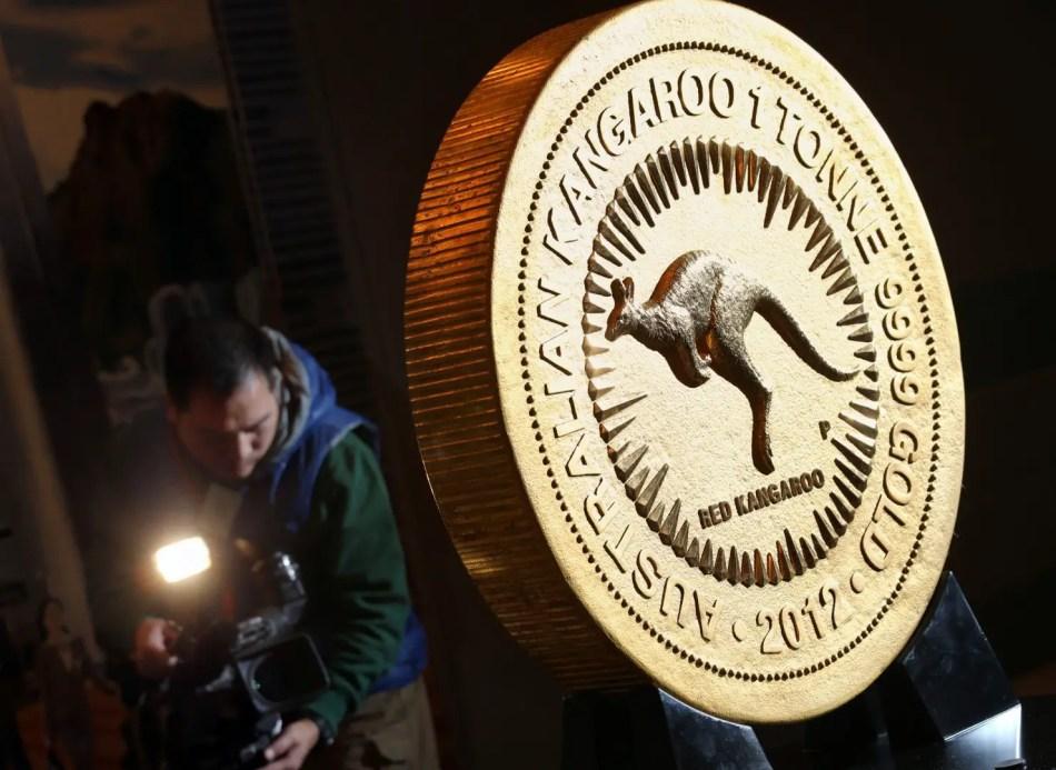 La más grande de todas las monedas gigantes.
