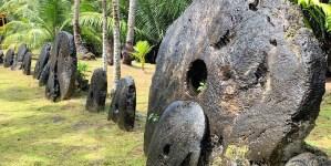 Las rocas de Rai, las monedas gigantes de piedra.