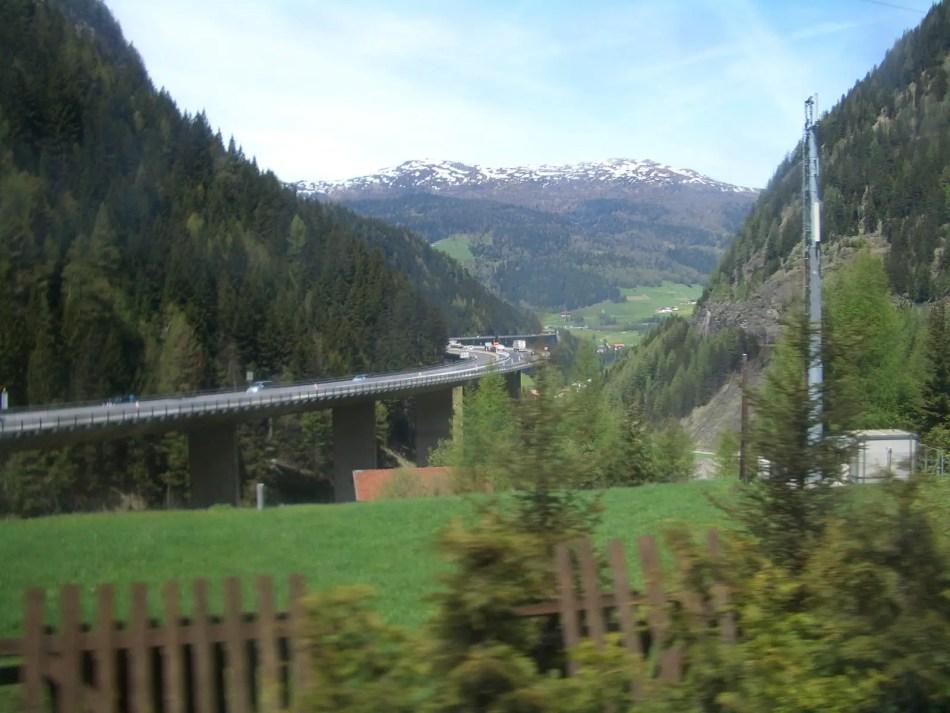 Paso del Brennero.