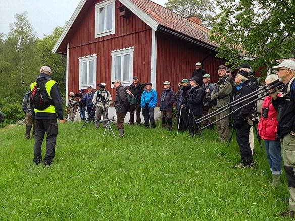 Samling vid Örsta. Foto: Karin Hendahl