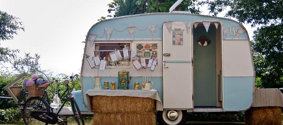 caravana vintage para bodas