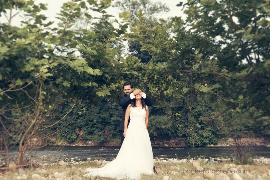 Postboda de Jessica y Christian. Las Caldas. angeefotografia.com. Fotografía original