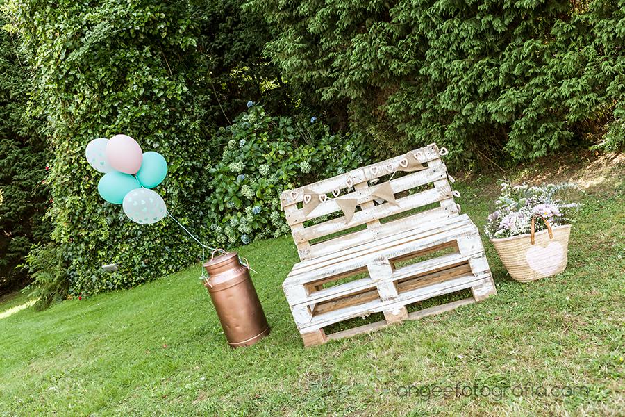 Jardin de los Olivos en Navia en la boda de Raquel y Jorge