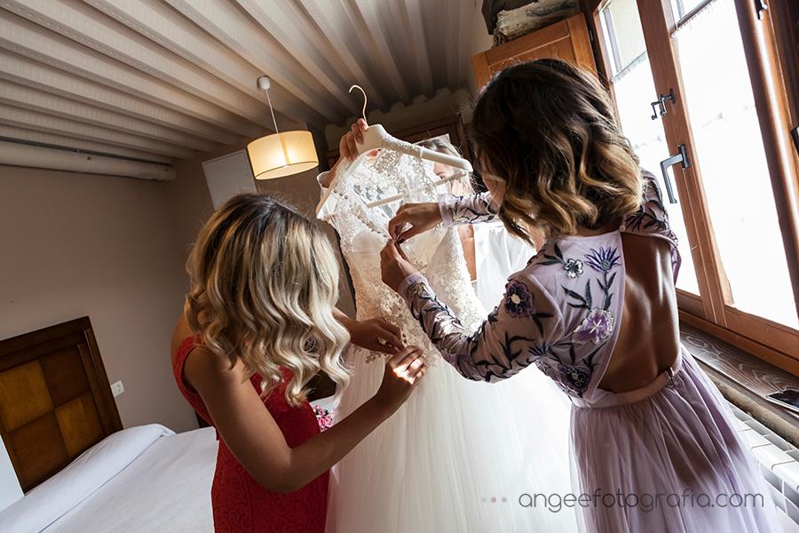 Boda Raquel y Jorge Luarca Vestido de novia