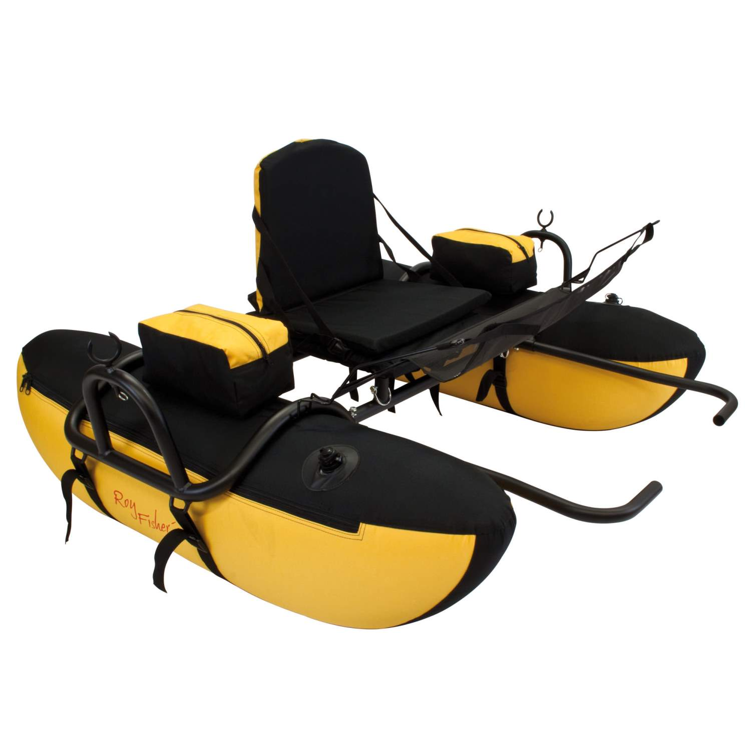 chair leg fishing floats espresso dining chairs guidestar ii float belly boat pontoon