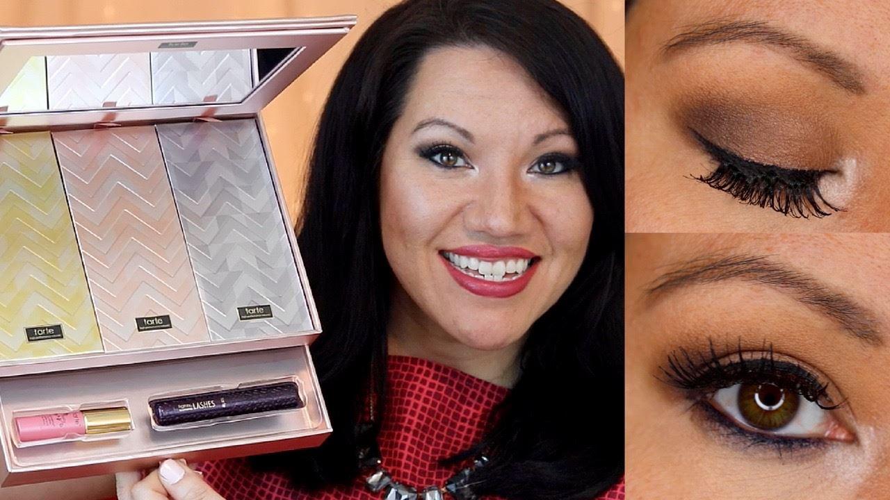 "3592d41333d Smoky ""smokey"" eye look | Tarte Cosmetics Greatest Glitz Collector's Set &  Portable Palettes"