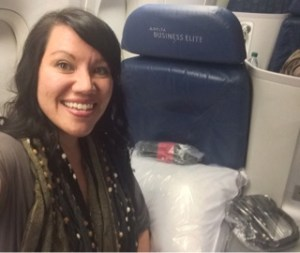 Delta Airlines first class