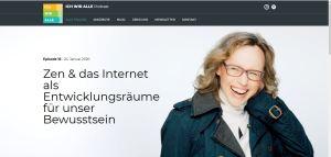 Zen & das Internet als Entwicklungsräume für unser Bewusstsein