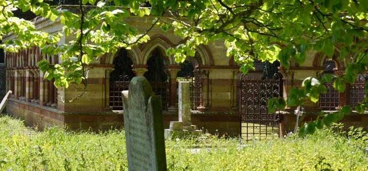 Spring in the churchyard