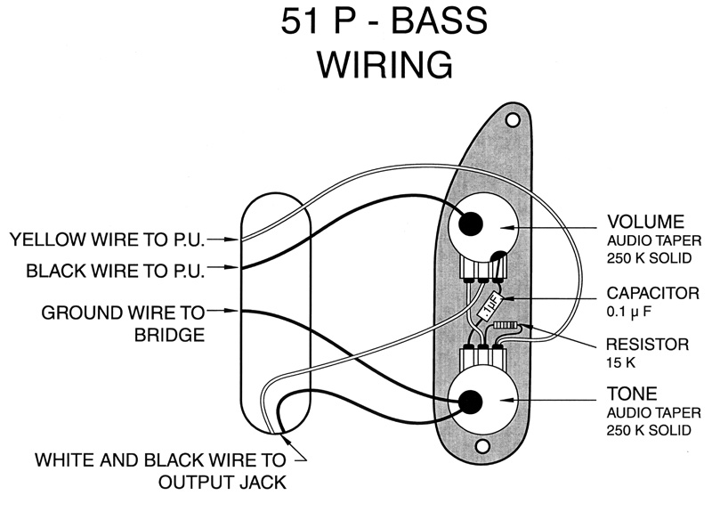 Fender Bass Pickup, '51 Precision Bass Pickup