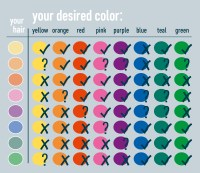 Italy Hair Color Chart