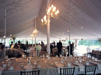 Decorated Wedding Tent