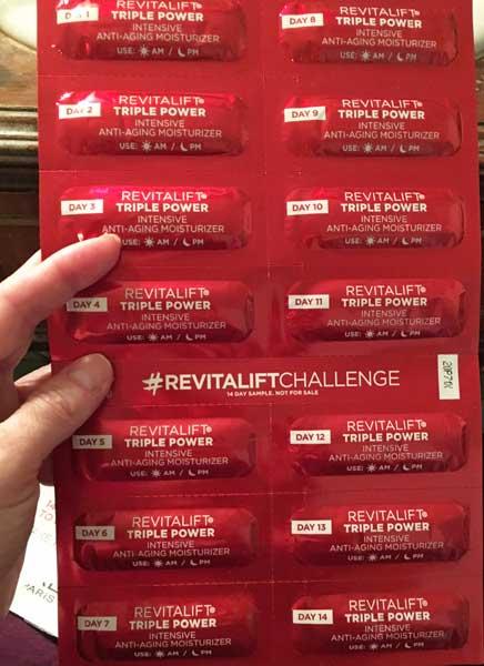 L'Oreal's #RevitaliftChallenge