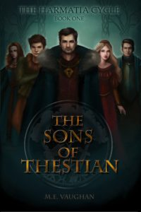 The Sons of Thestian, Front Cover