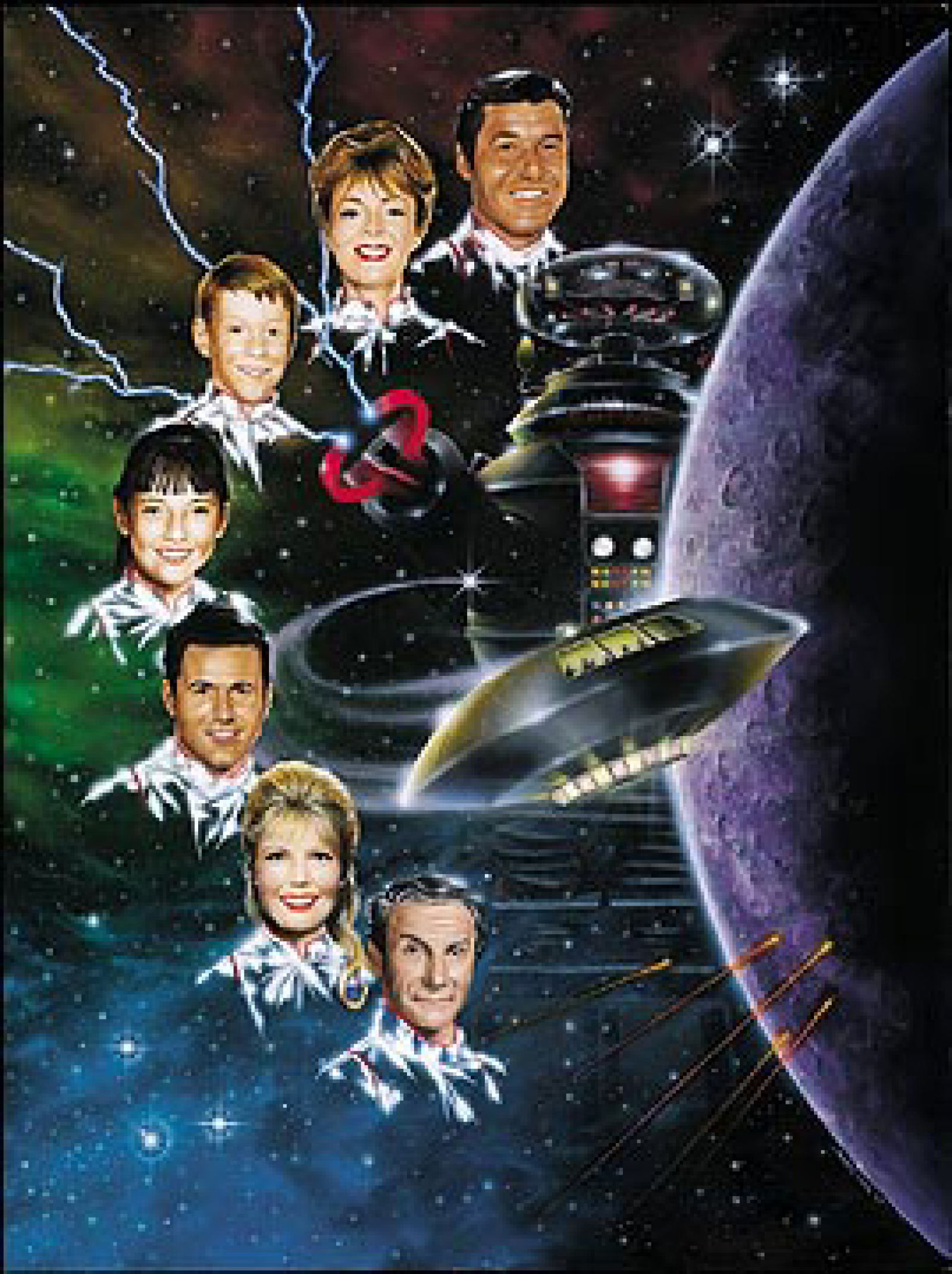 200 Lost In Space Lithograph Signed By Cast
