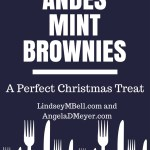 Andes Mint Brownies:  A Perfect Christmas Treat