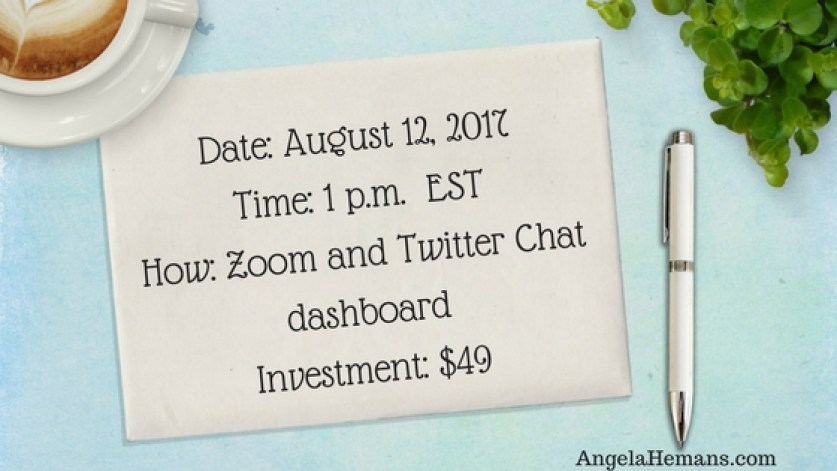 Twitter Chat Master Class