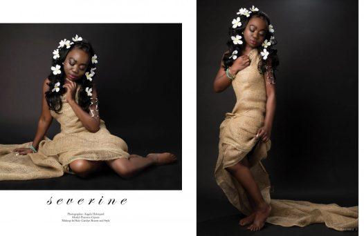 Femme Rebelle Florence Cajuste Angela Holmyard Photography Severine Carolyn Beauty and Style artistic fashion flowers