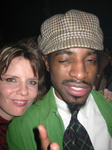 (shaking it like a polaroid picture ) Andre 3000
