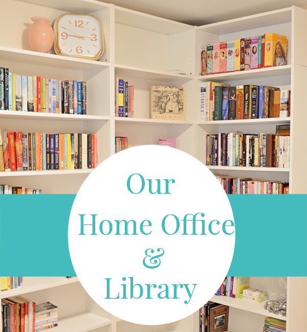 Our Home Office / Library