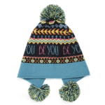 Brightly colored stocking cap
