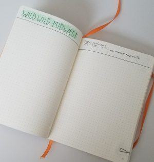 Bullet Journal Collections: Conference or event collection
