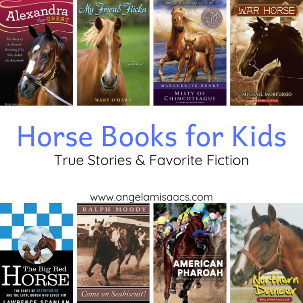 Horse Stories for Kids: True Stories and Favorite Fiction