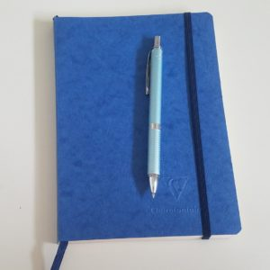 My 2020 Writing bullet journal