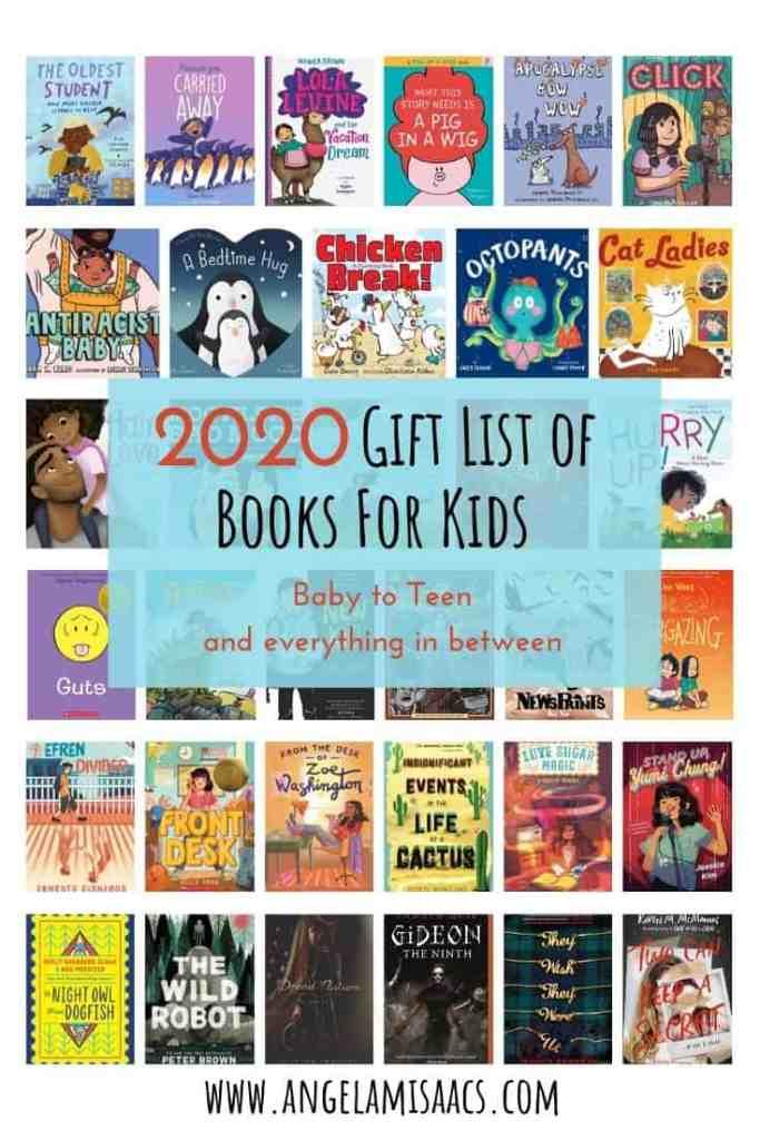2020 Gift List of Books For Kids