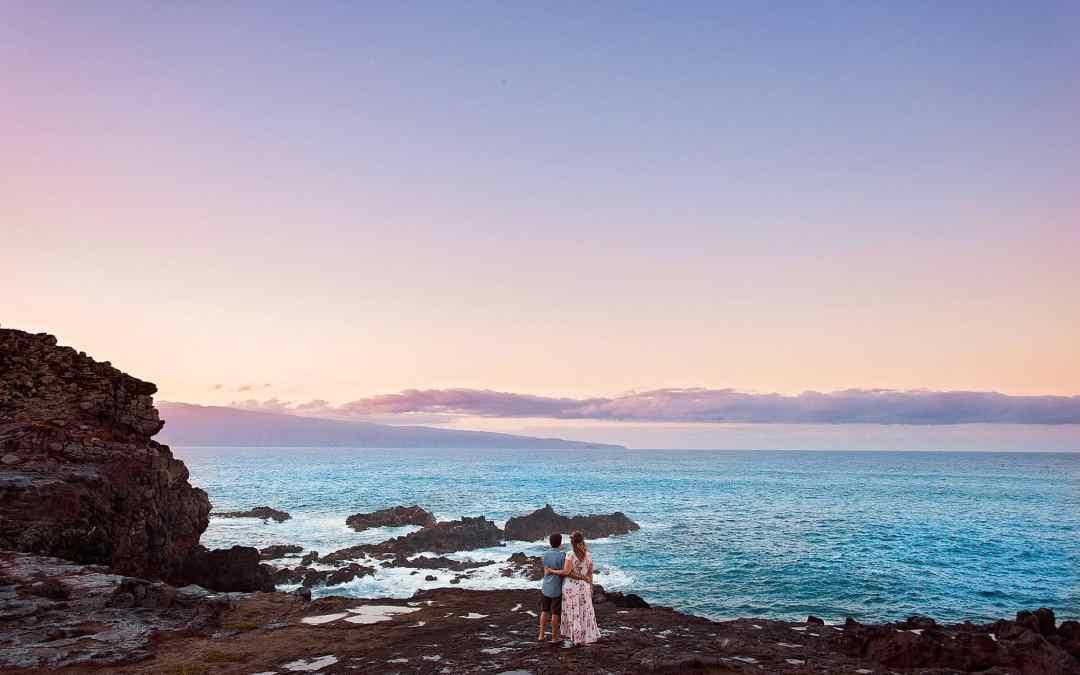 Adventurous Maui Engagement Session | Katie + Jasen
