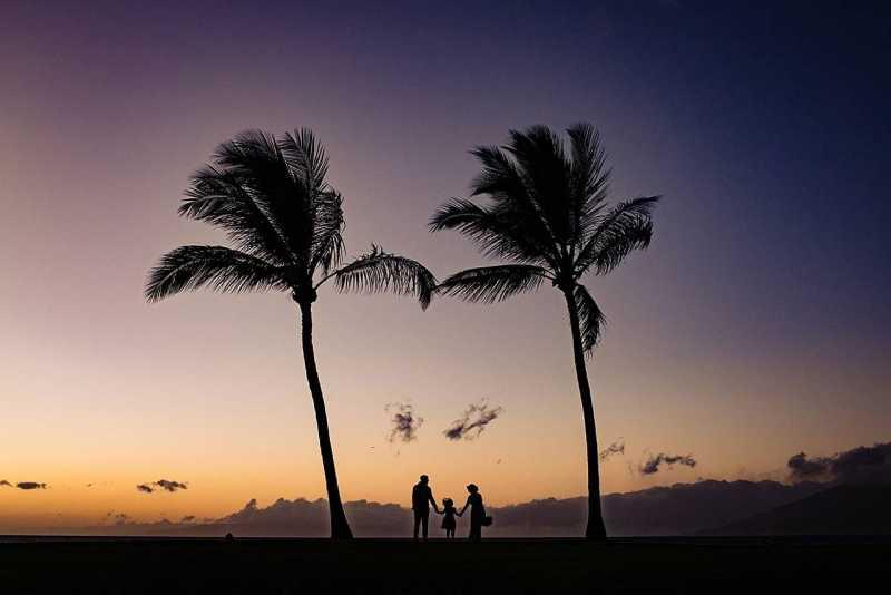 family portrait at five palms maui