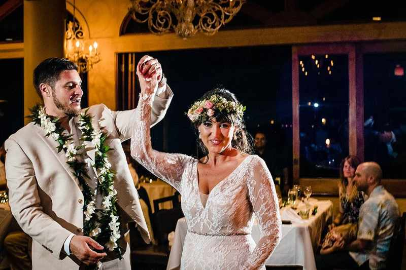 first dance at the five palms maui restaurant
