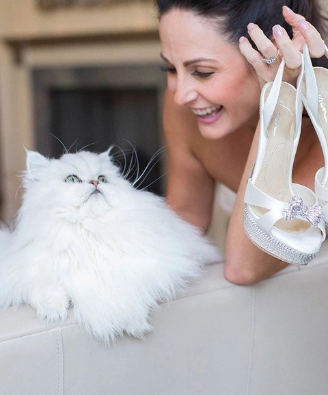 Laura and Bently for Angela Nuran Shoes Contact Us