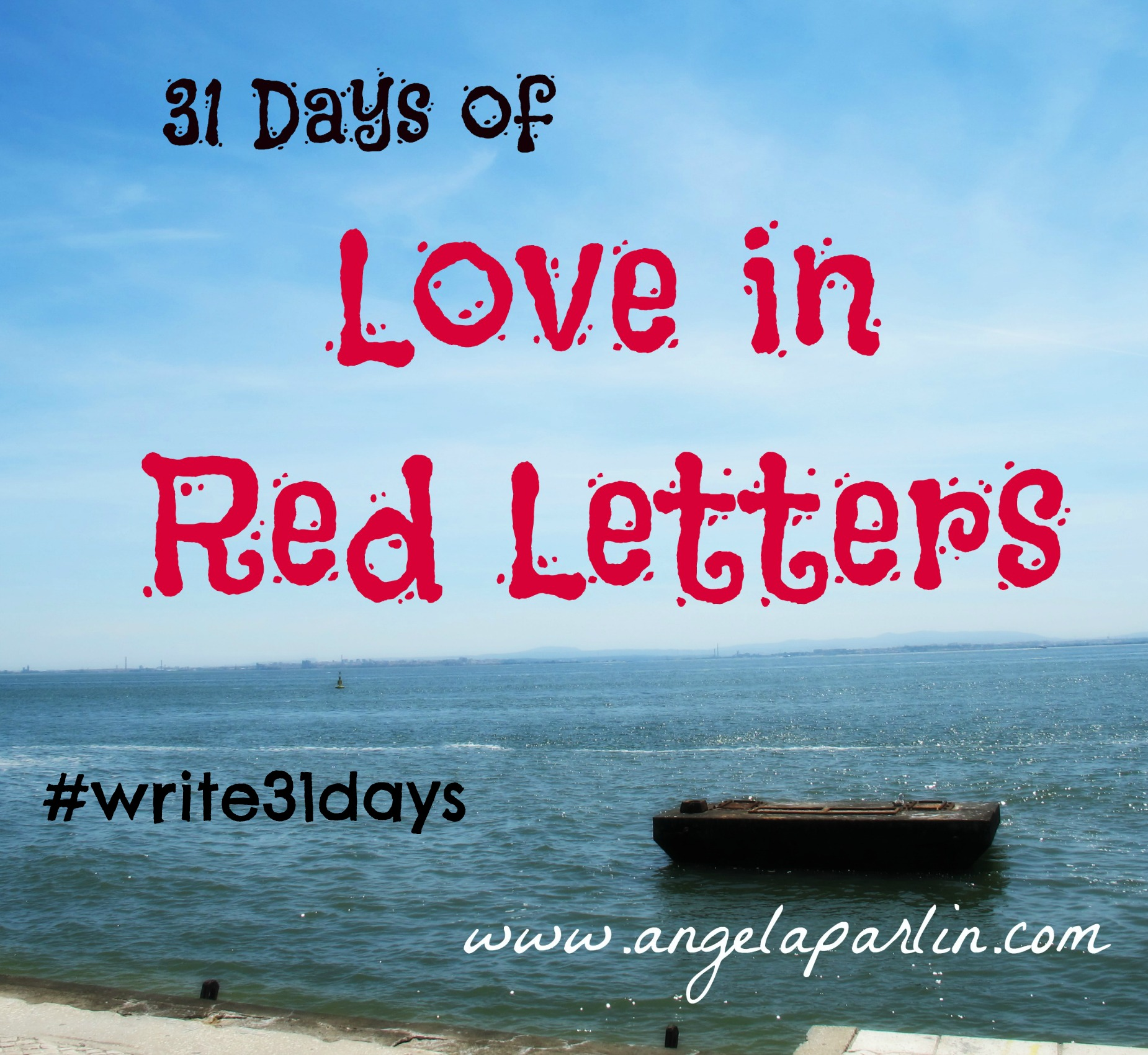 31 Days Love Red Letter Words Jesus