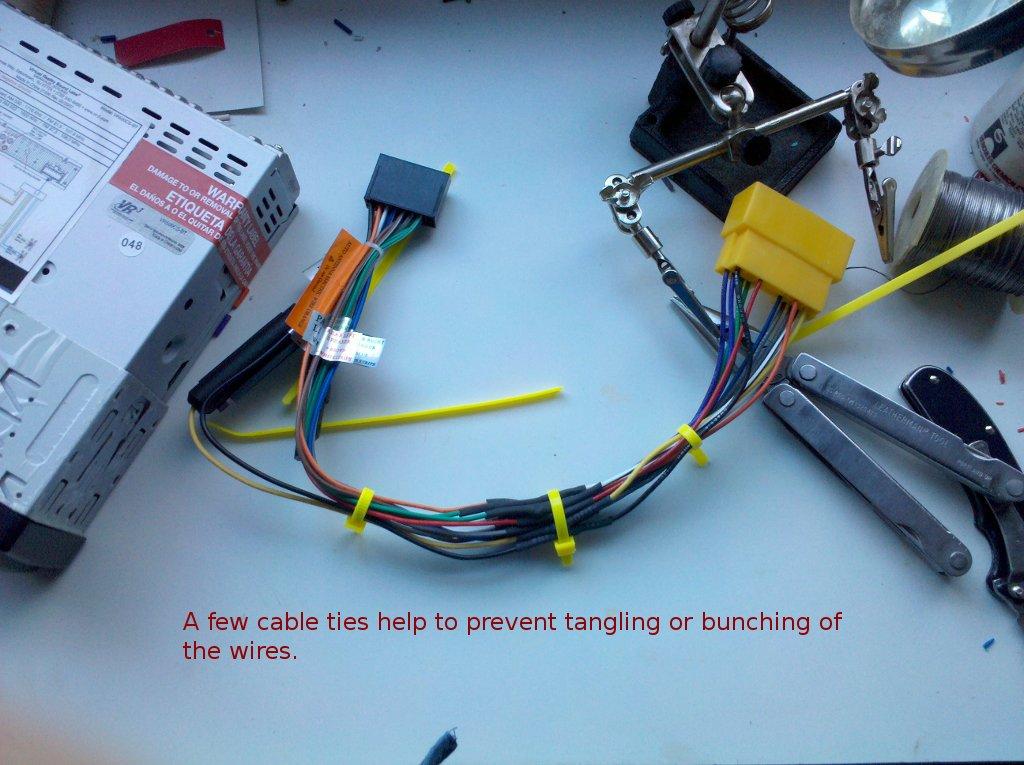 Mazda Protege Stereo Wiring Diagram
