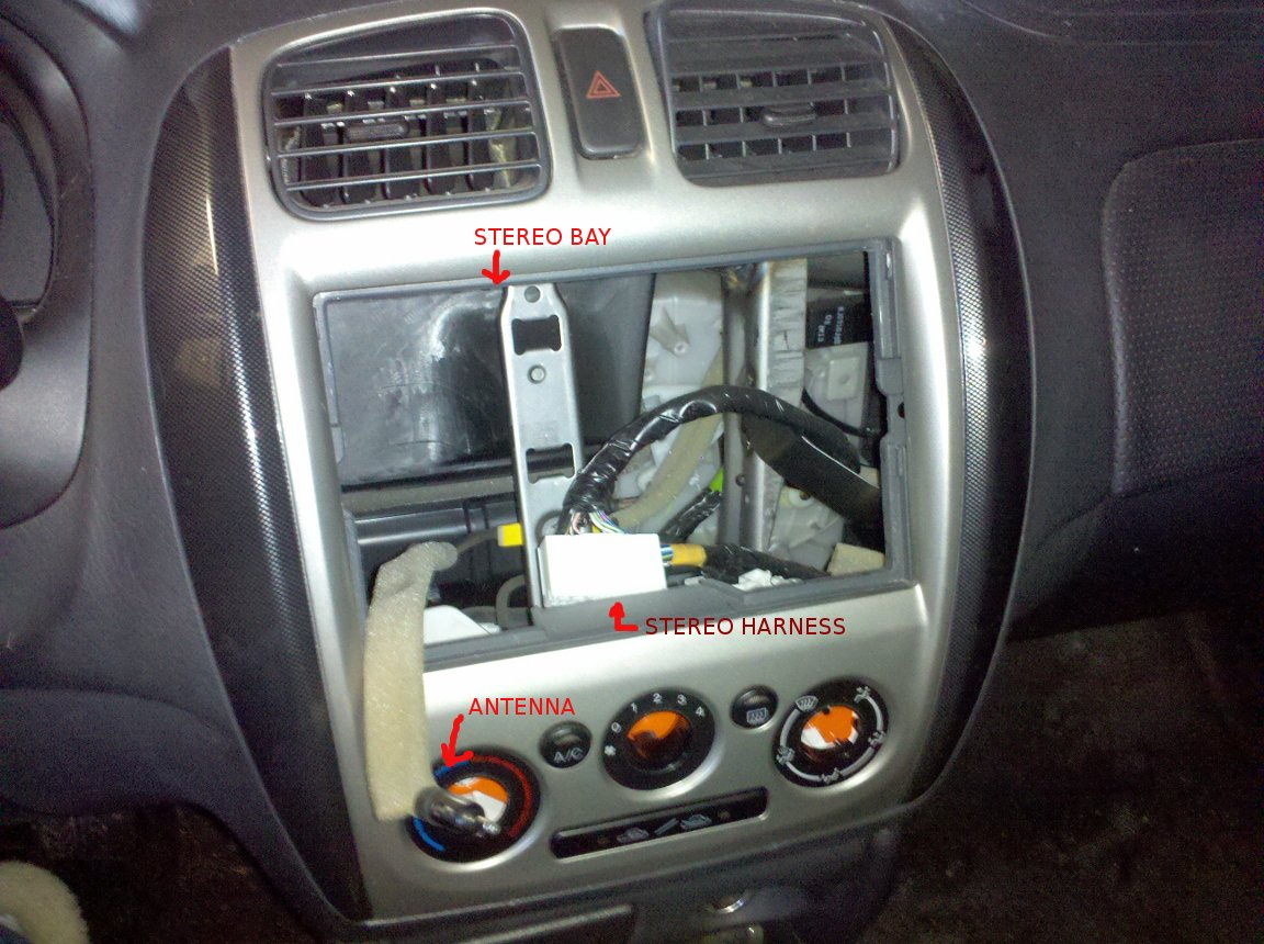 hight resolution of 1997 mazda 323 astina wiring diagram car stereo images gallery installing a new stereo in