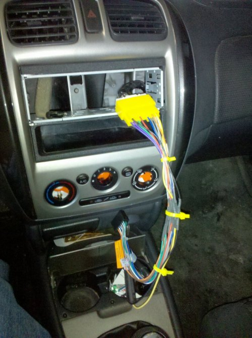 small resolution of installing a new stereo in my 2002 mazda protege 52002 mazda protege5 wiring harness 5