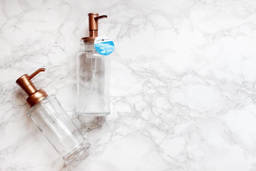 bathroom foaming bottle